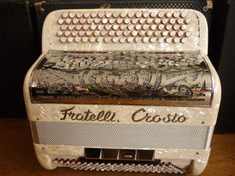 Accordéon Fratelli Crosio basses chromatiques convertisseur