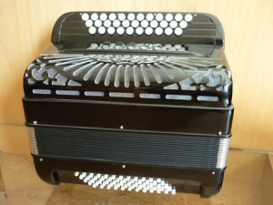 Accordéon diatonique mixte fabrication Deléon